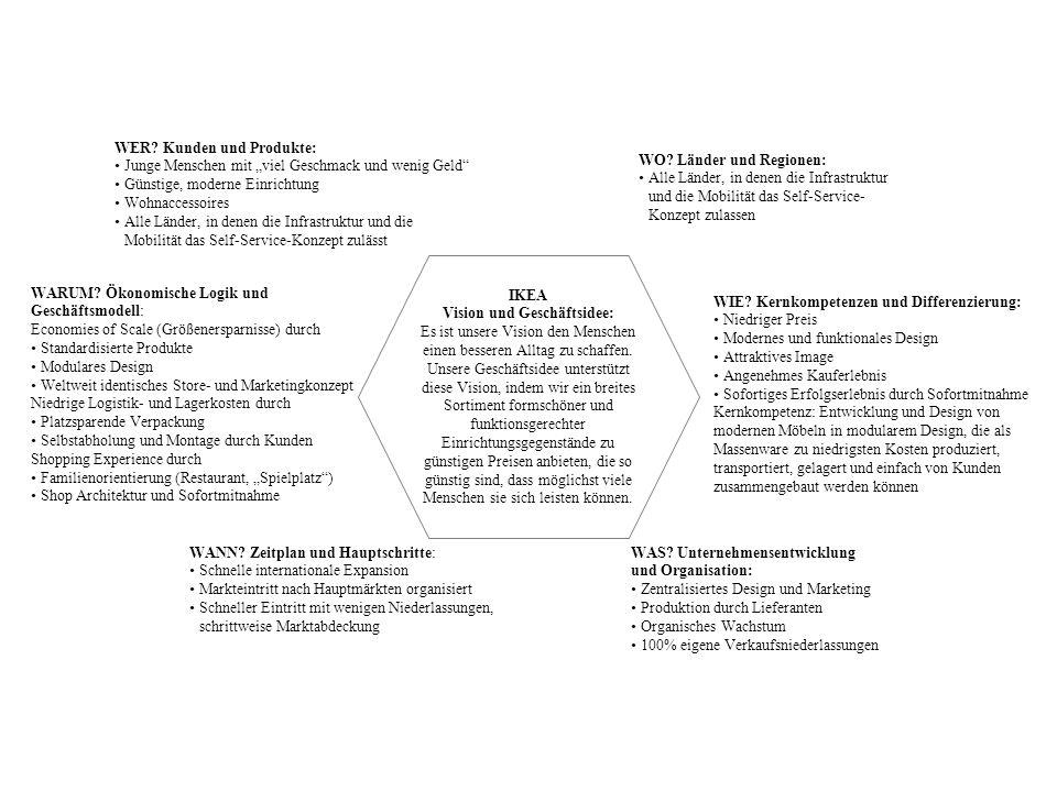 Vision und Geschäftsidee: