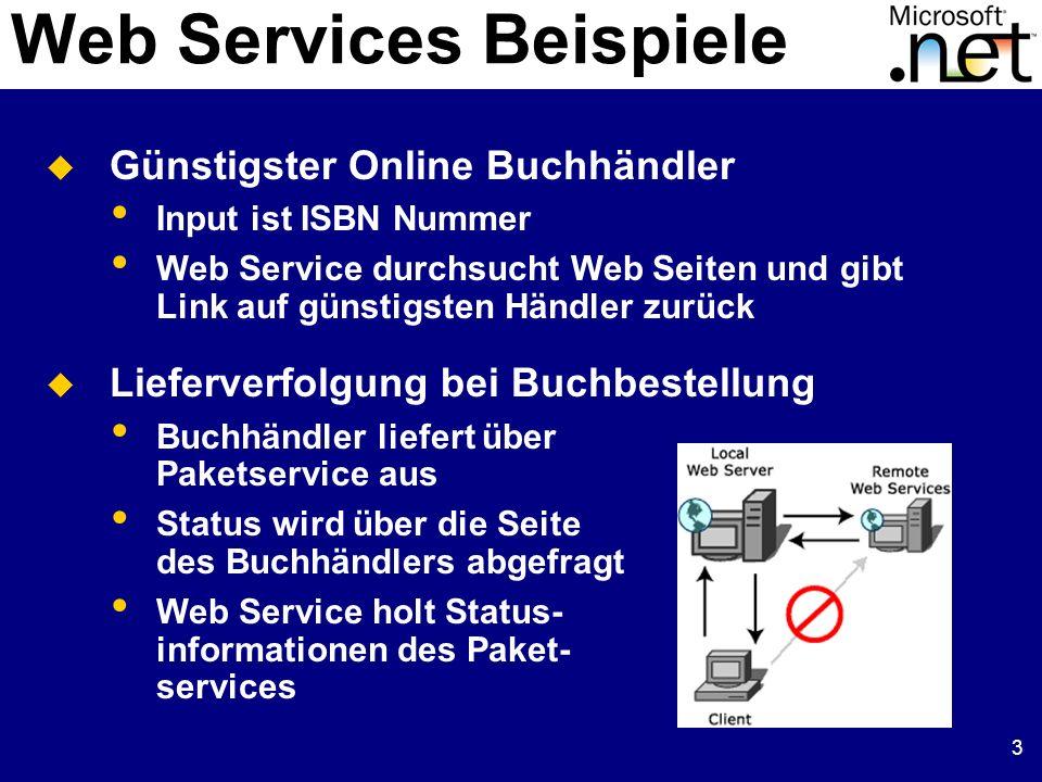 Web Services Beispiele