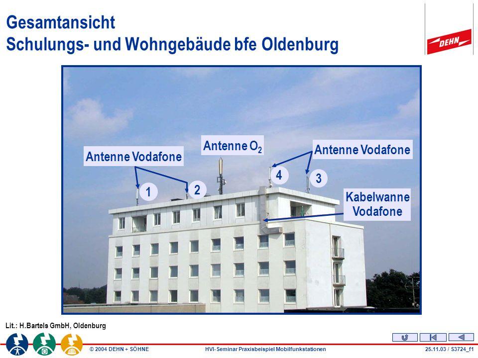 Gesamtansicht Schulungs- und Wohngebäude bfe Oldenburg