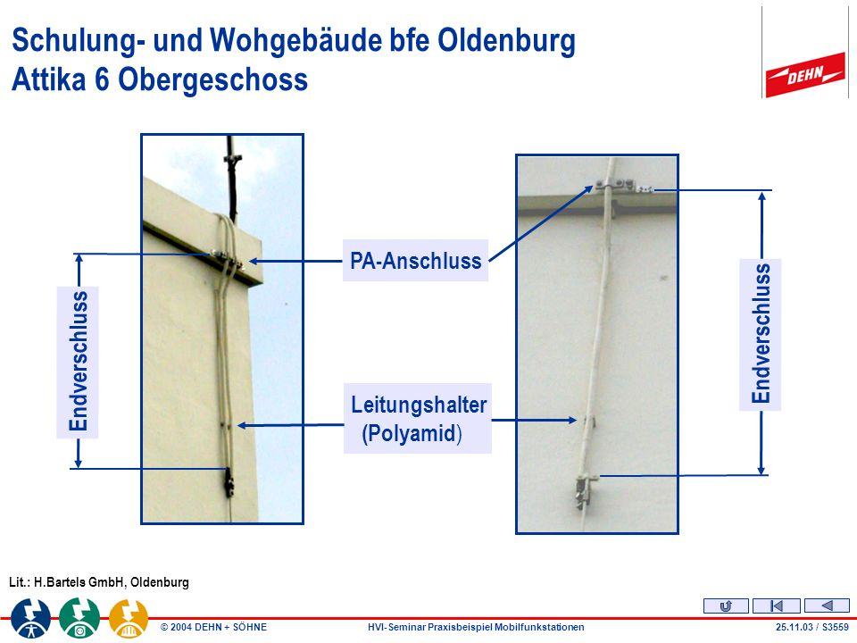 Schulung- und Wohgebäude bfe Oldenburg Attika 6 Obergeschoss