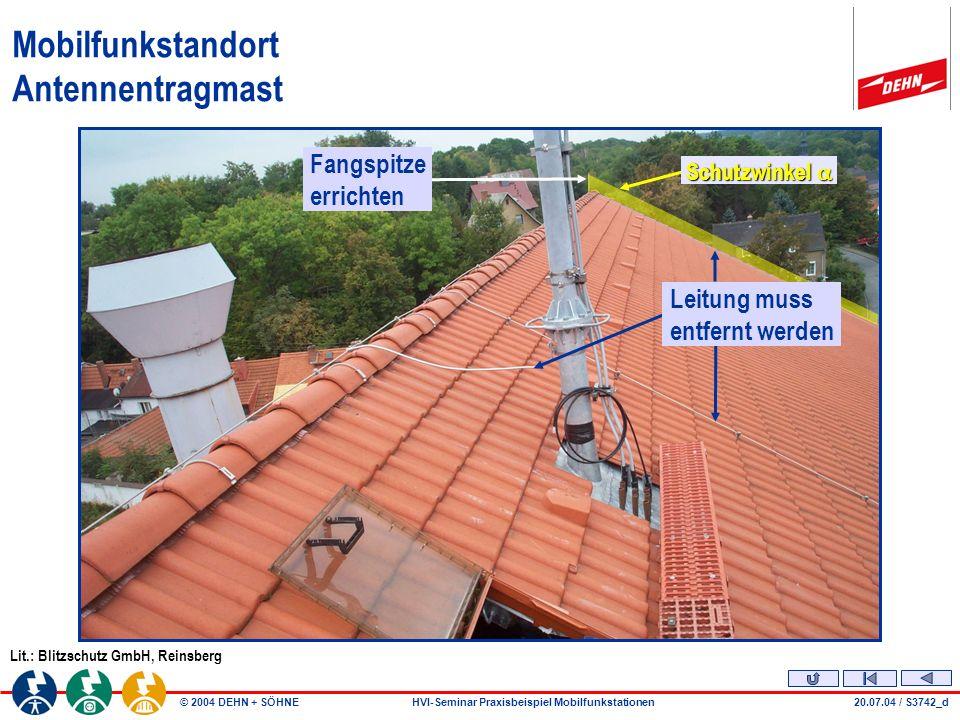 Mobilfunkstandort Antennentragmast