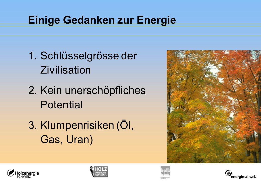 Einige Gedanken zur Energie