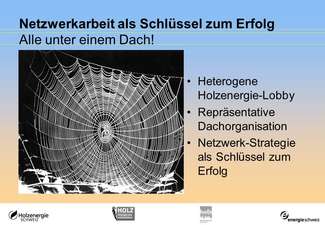 Netzwerkarbeit als Schlüssel zum Erfolg Alle unter einem Dach!
