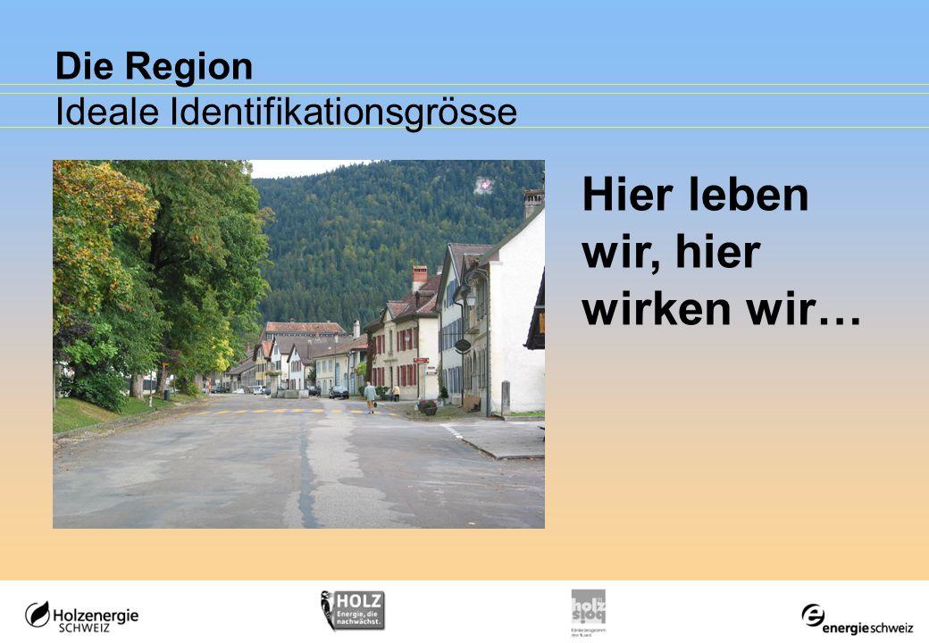 Die Region Ideale Identifikationsgrösse
