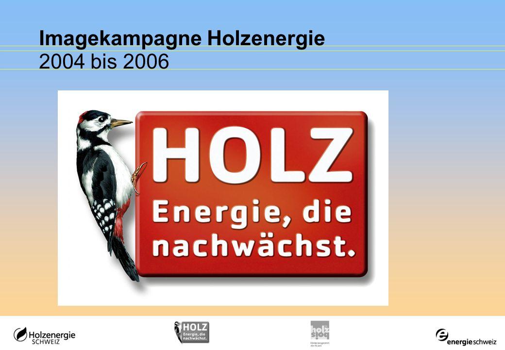 Imagekampagne Holzenergie