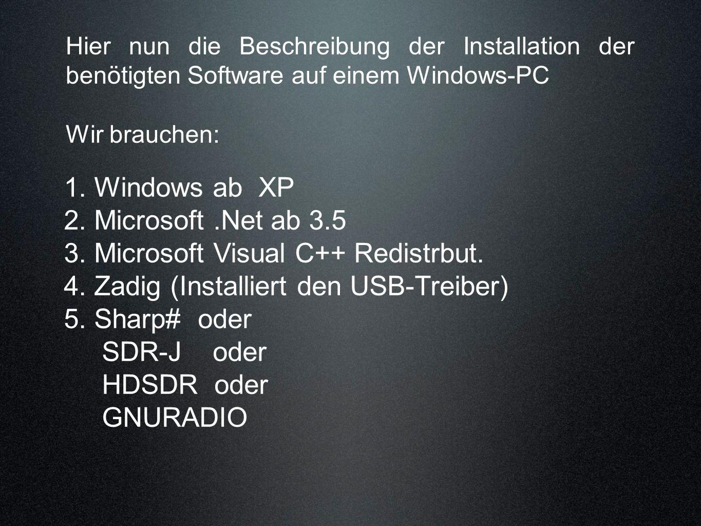 3. Microsoft Visual C++ Redistrbut.