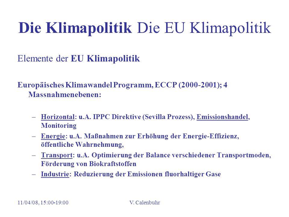 Die Klimapolitik Die EU Klimapolitik