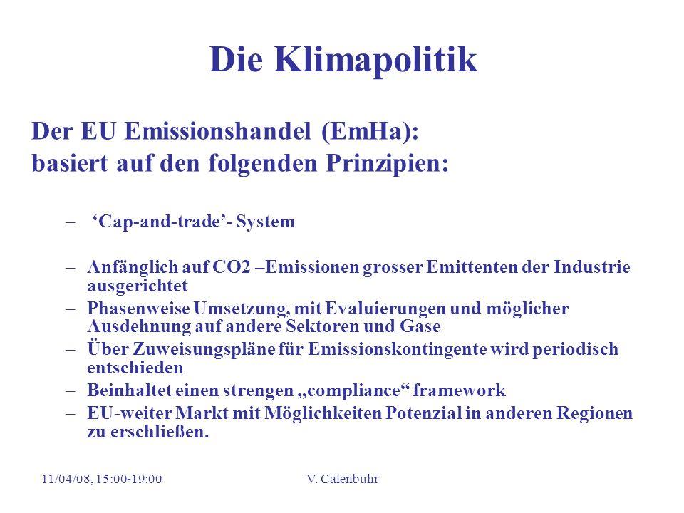 Die Klimapolitik Der EU Emissionshandel (EmHa):