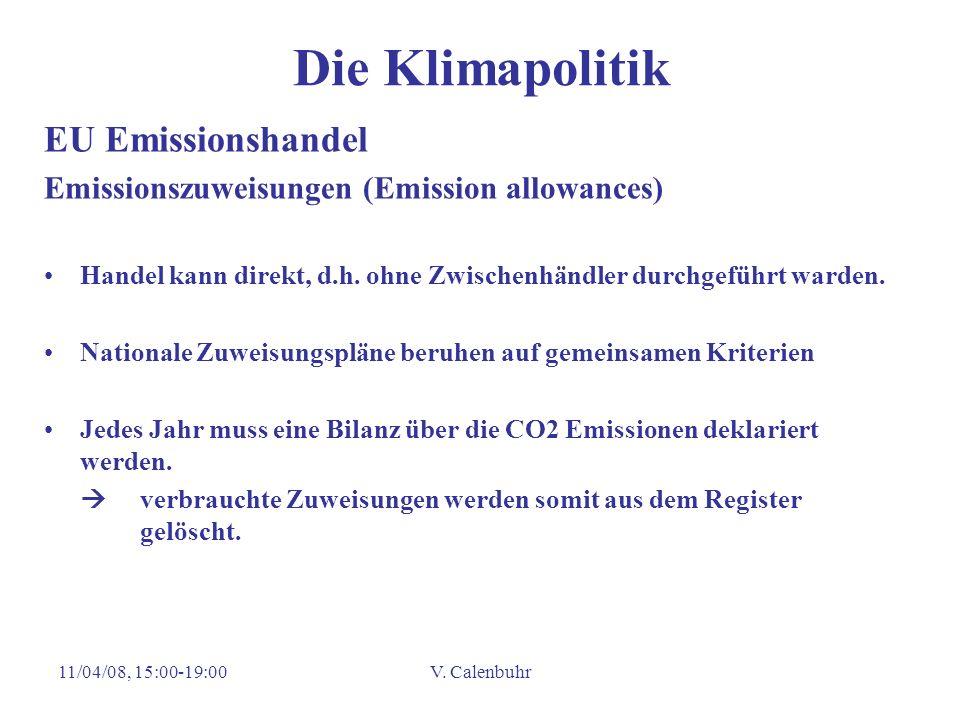 Die Klimapolitik EU Emissionshandel