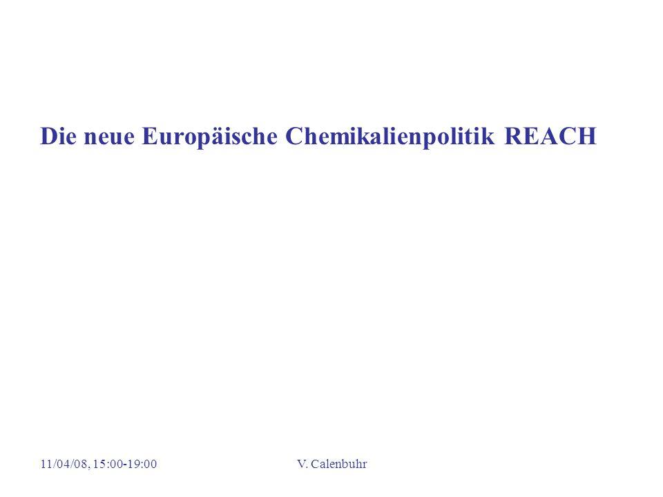 Die neue Europäische Chemikalienpolitik REACH