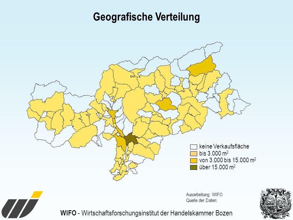 Geografische Verteilung