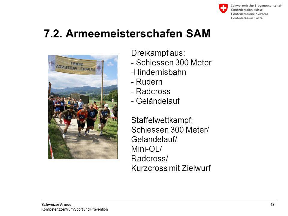 7.2. Armeemeisterschafen SAM