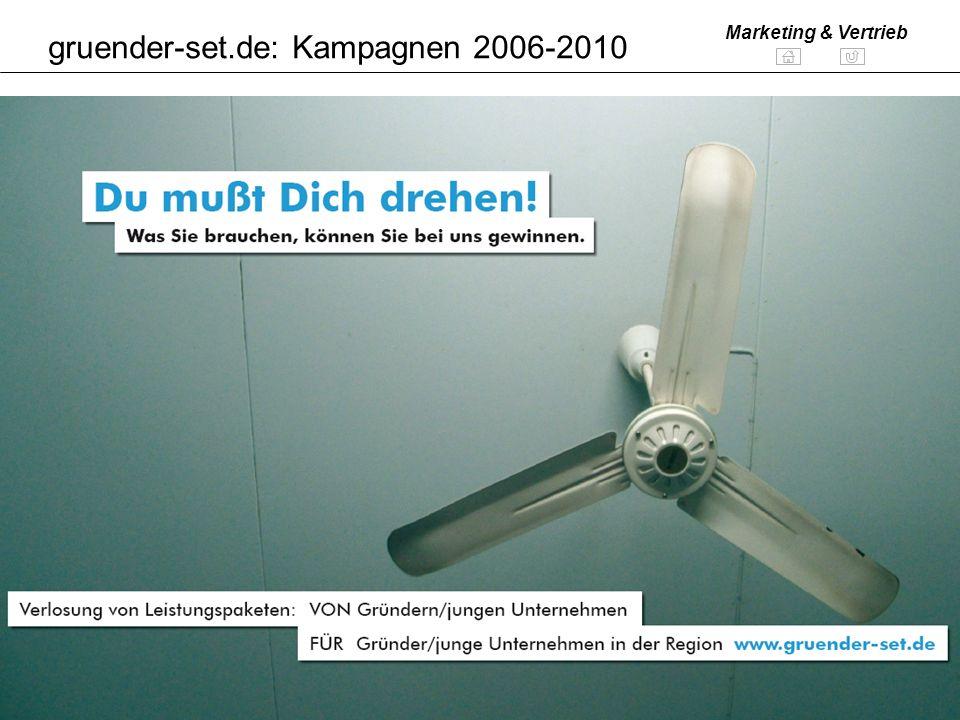 gruender-set.de: Kampagnen 2006-2010