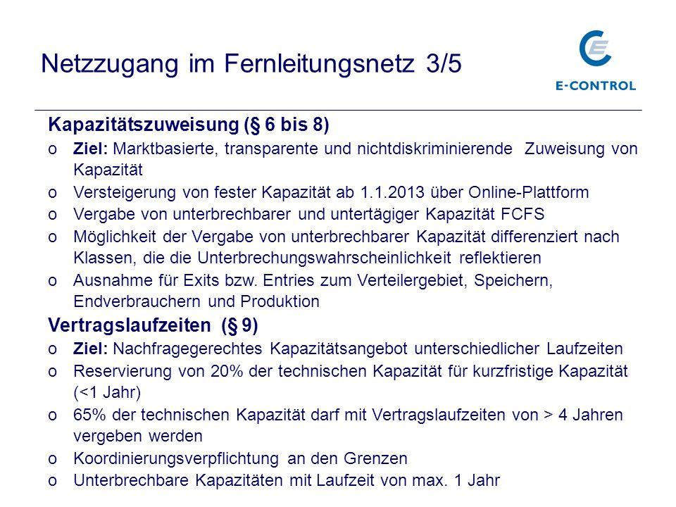 Netzzugang im Fernleitungsnetz 3/5