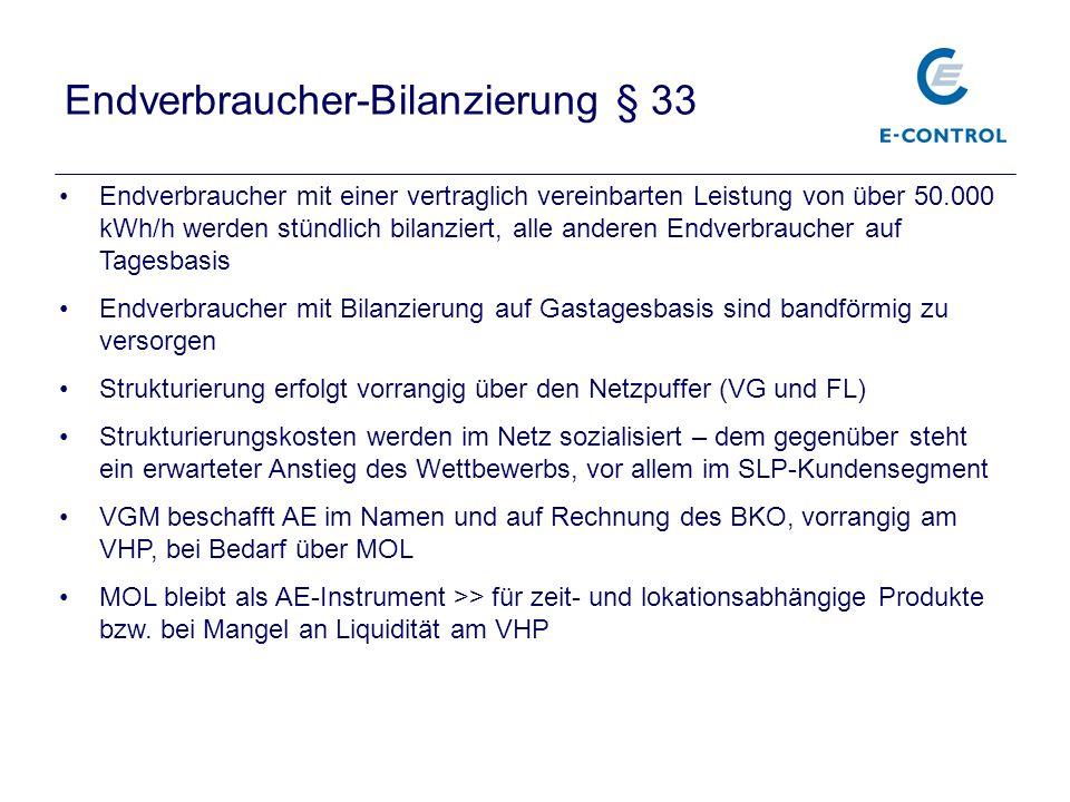 Endverbraucher-Bilanzierung § 33