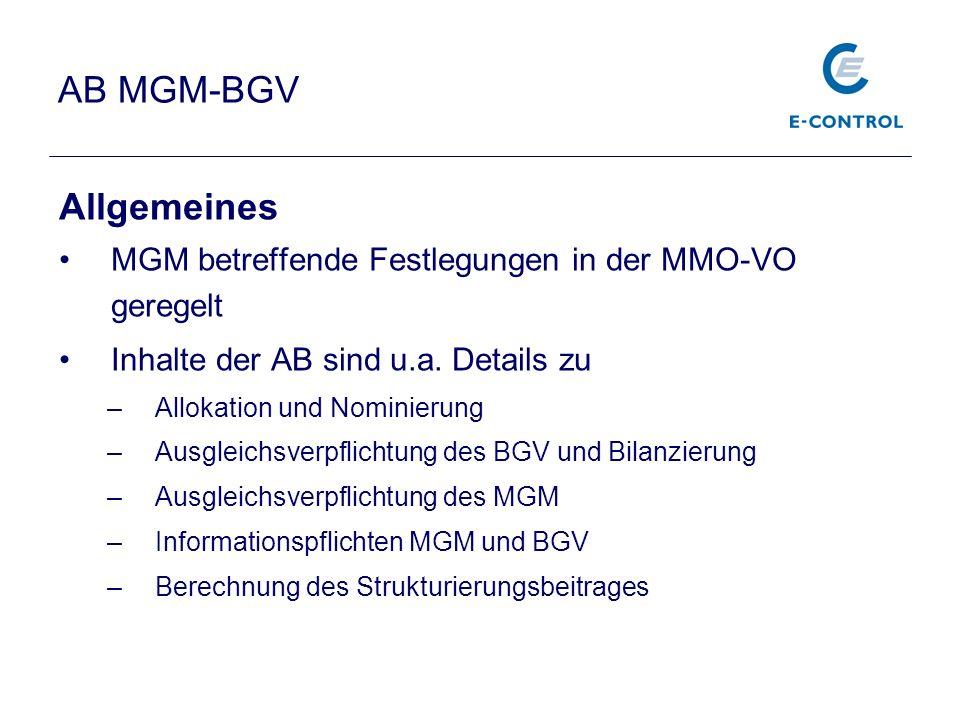 AB MGM-BGV Allgemeines