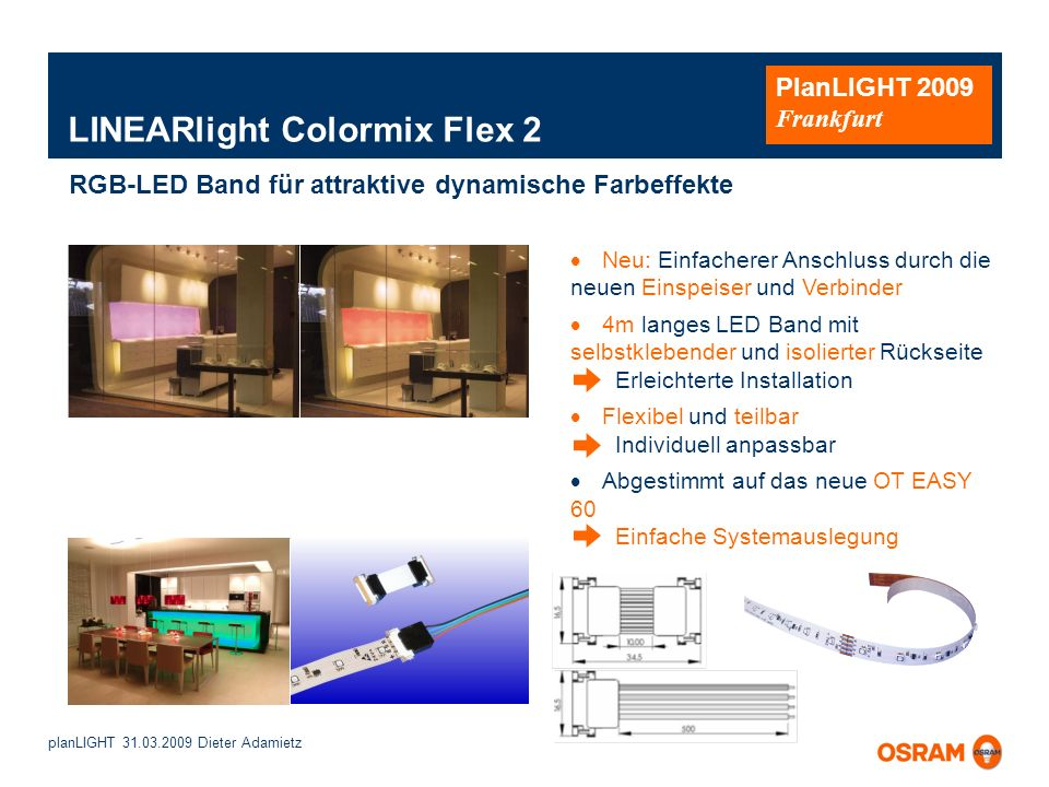 LINEARlight Colormix Flex 2