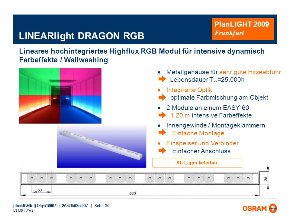 LINEARlight DRAGON RGB