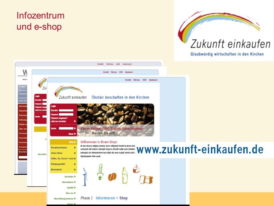 Infozentrum und e-shop