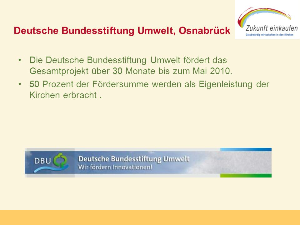 Deutsche Bundesstiftung Umwelt, Osnabrück
