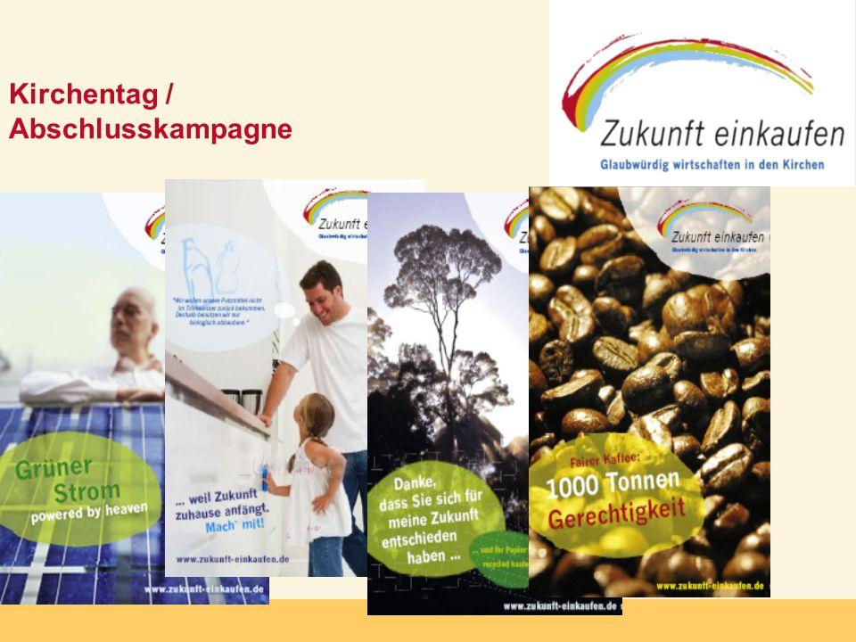 Kirchentag / Abschlusskampagne