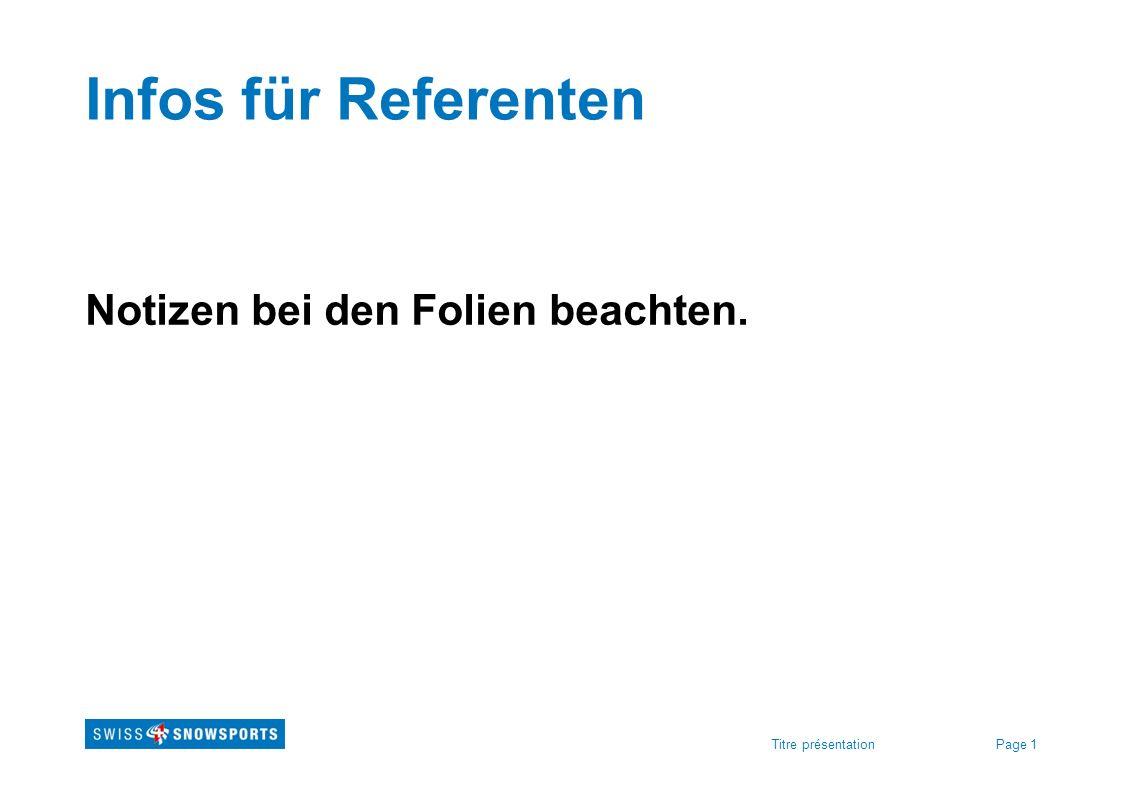 Infos für Referenten Notizen bei den Folien beachten.