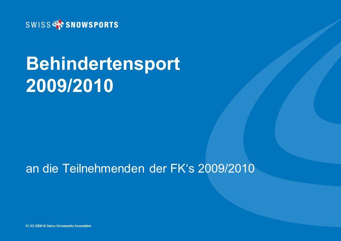 an die Teilnehmenden der FK's 2009/2010