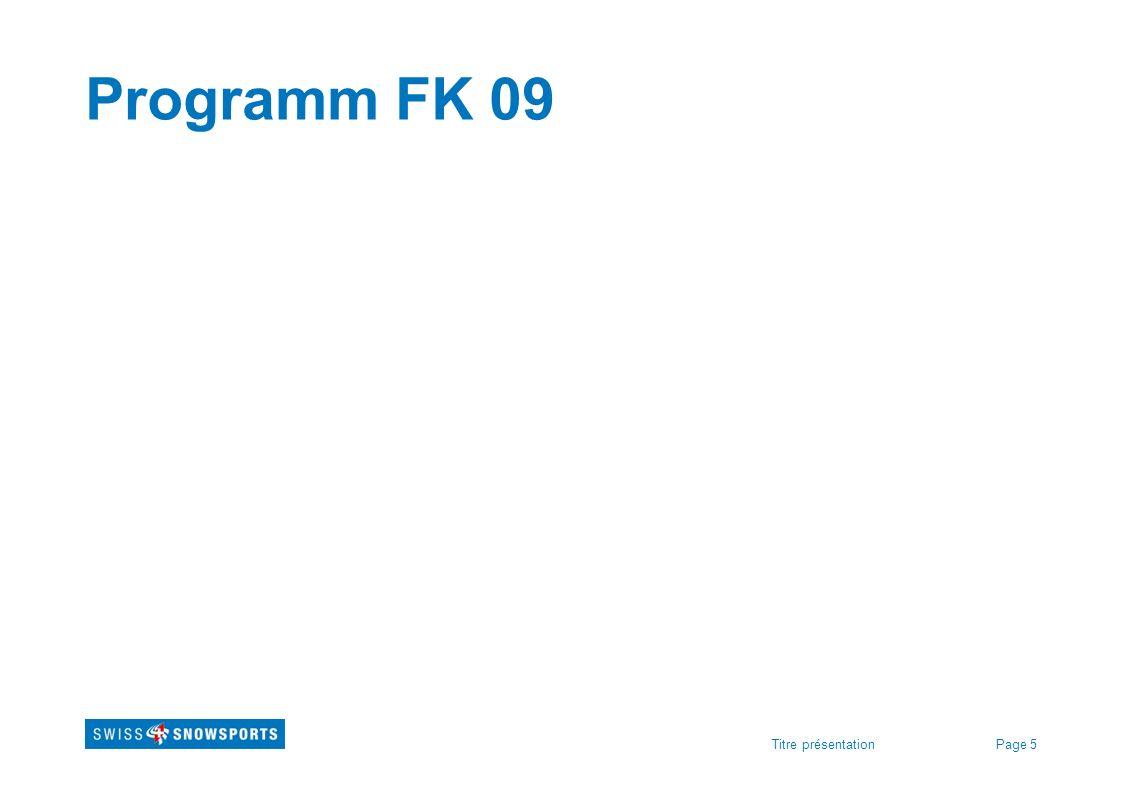 Programm FK 09 Für FK's: Austauschen mit FK-Programm