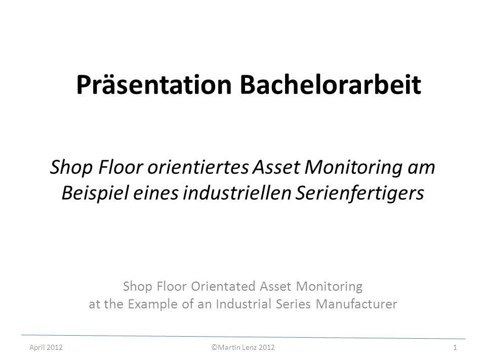 Präsentation Bachelorarbeit