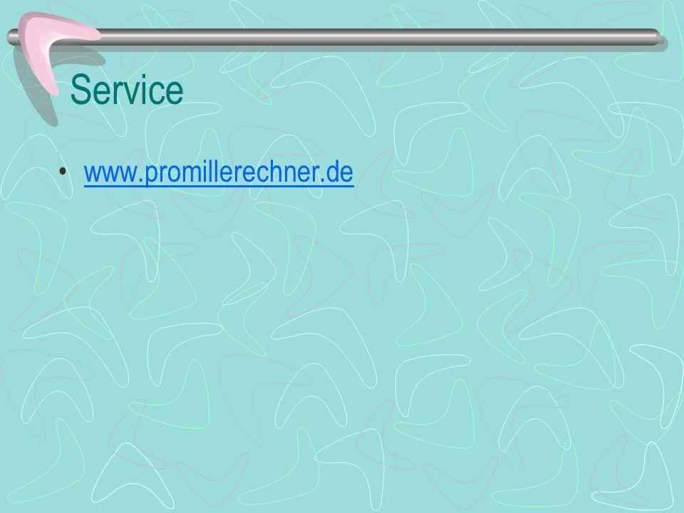 Service www.promillerechner.de
