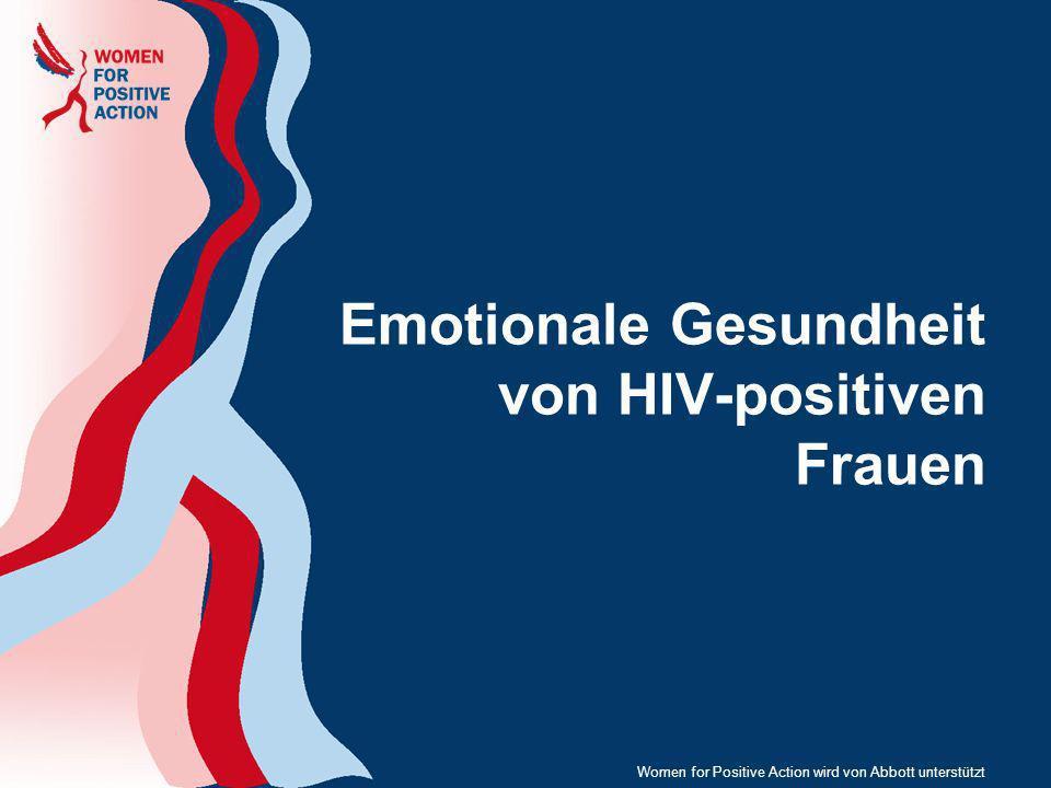 Emotionale Gesundheit von HIV-positiven Frauen