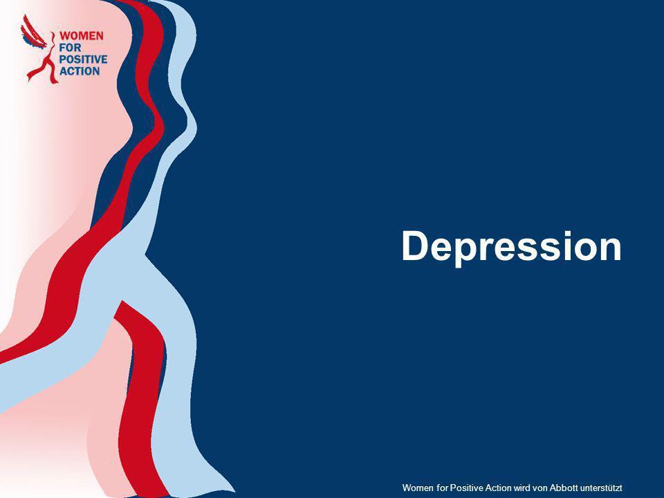 Depression Women for Positive Action wird von Abbott unterstützt