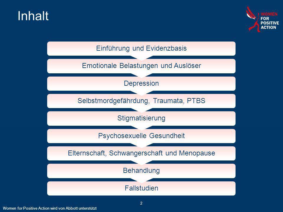 Inhalt Einführung und Evidenzbasis Emotionale Belastungen und Auslöser