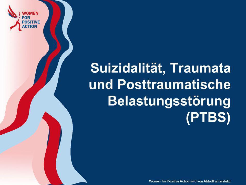 Suizidalität, Traumata und Posttraumatische Belastungsstörung (PTBS)