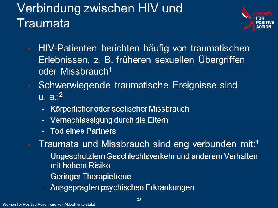 Verbindung zwischen HIV und Traumata