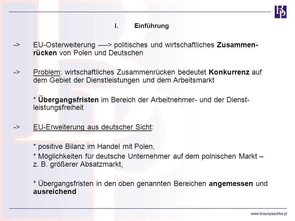 -> EU-Erweiterung aus deutscher Sicht:
