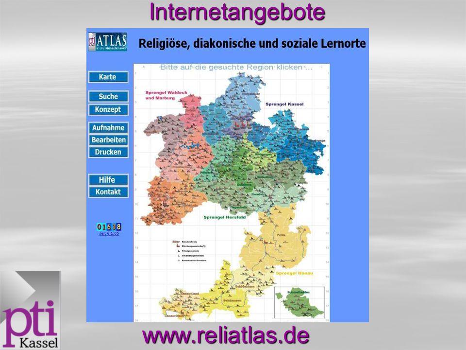Internetangebote www.reliatlas.de