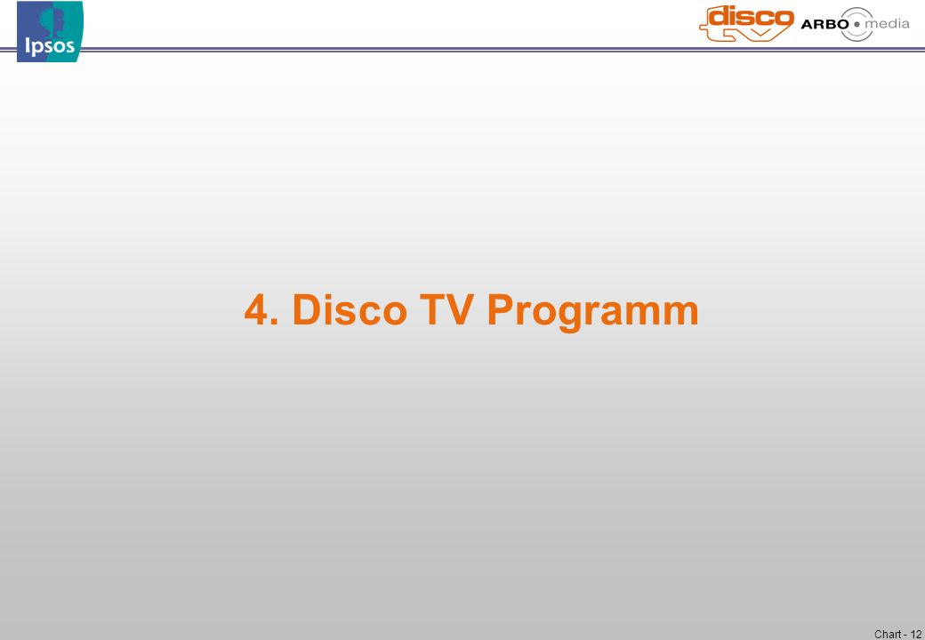 4. Disco TV Programm