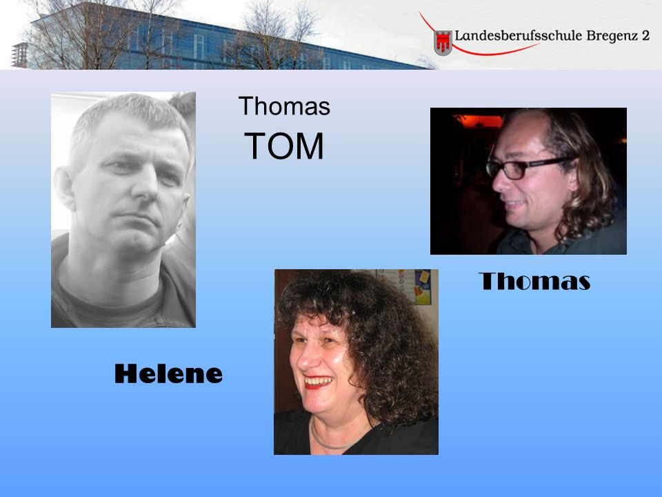Thomas TOM Thomas Helene