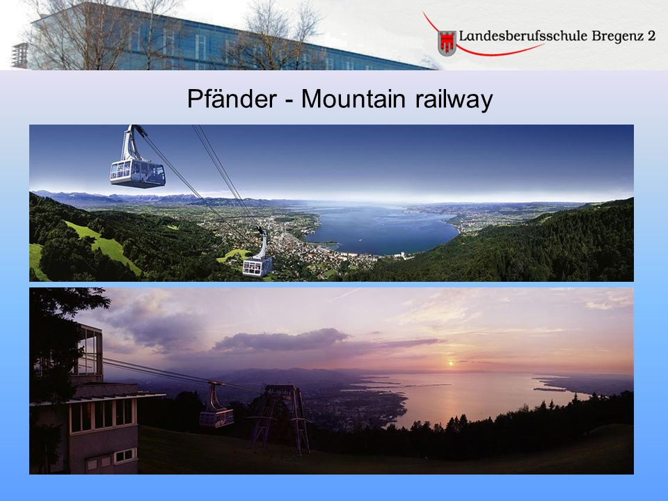 Pfänder - Mountain railway
