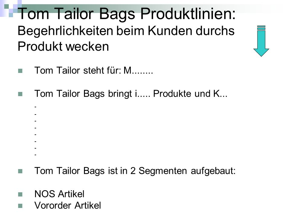 Tom Tailor Bags Produktlinien: Begehrlichkeiten beim Kunden durchs Produkt wecken