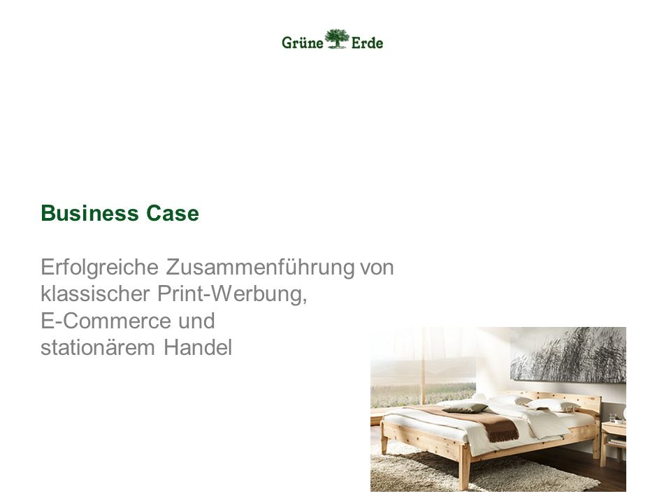 Business Case Erfolgreiche Zusammenführung von klassischer Print-Werbung, E-Commerce und stationärem Handel