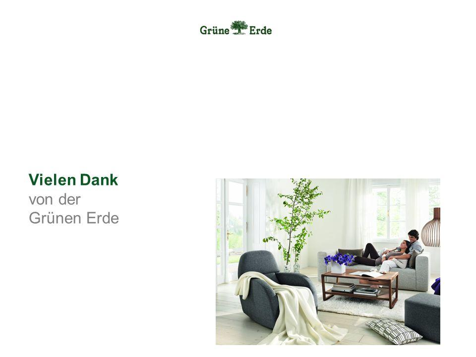 Vielen Dank von der Grünen Erde