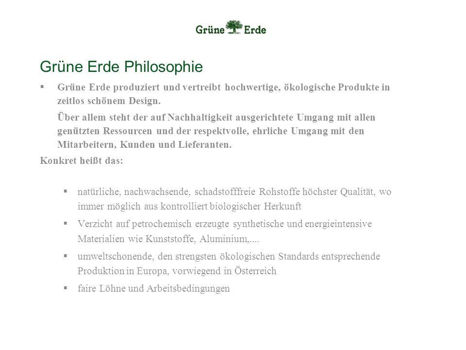 Grüne Erde Philosophie