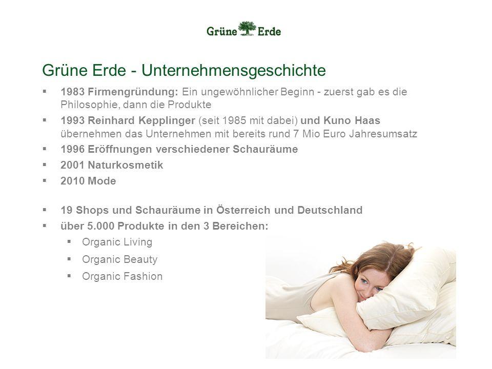 Grüne Erde - Unternehmensgeschichte