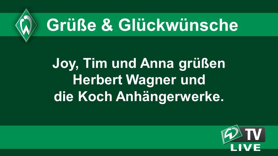Joy, Tim und Anna grüßen Herbert Wagner und die Koch Anhängerwerke.