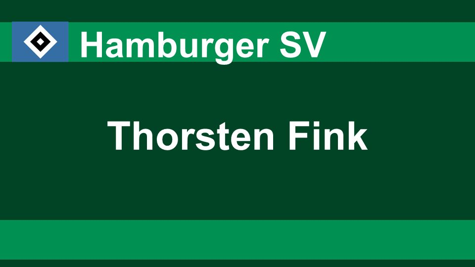 3636 3636 Hamburger SV Thorsten Fink 36
