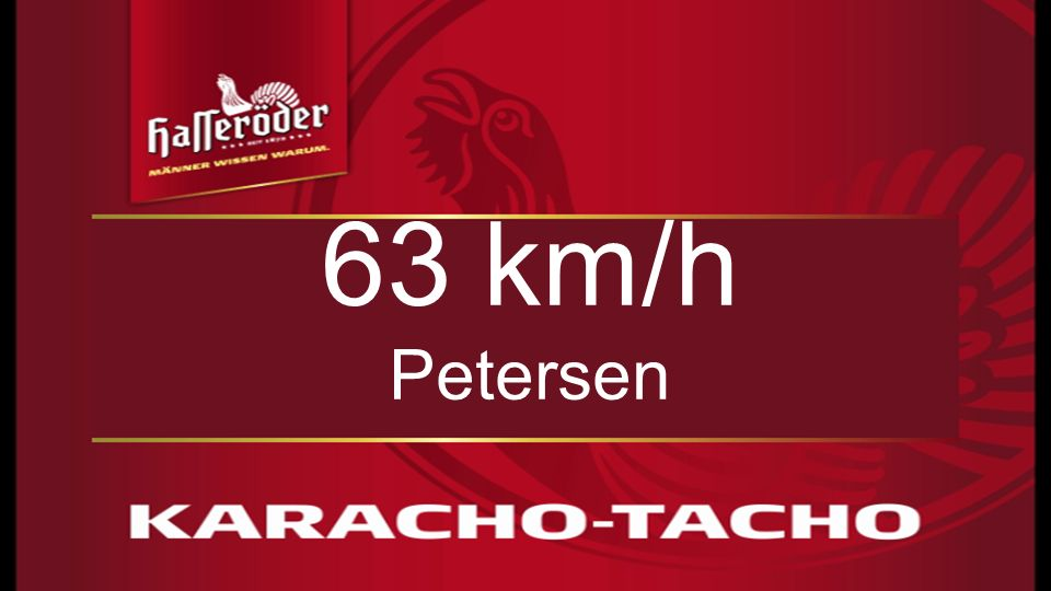 6161 6161 63 km/h Petersen 61
