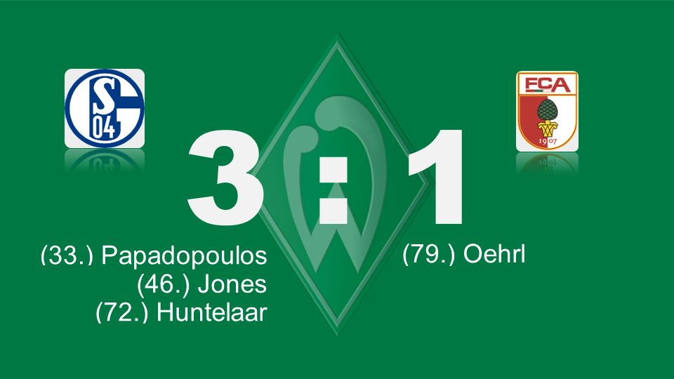 3 : 1 Bochum – KSC (33.) Papadopoulos (79.) Oehrl (46.) Jones