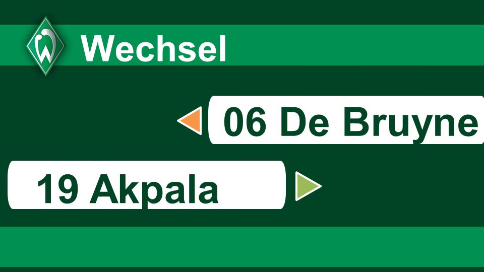 8383 8383 Wechsel 06 De Bruyne s 19 Akpala 83
